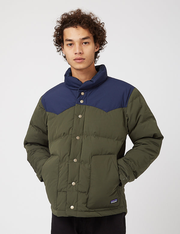 Patagonia Bivy Down Jacket - Kelp Forest