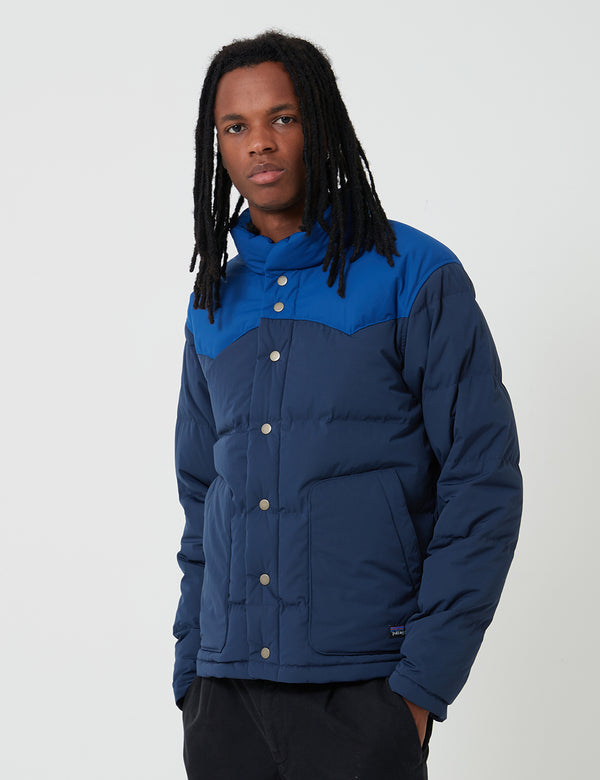 Patagonia Bivy Down Jacket - New Navy Blue