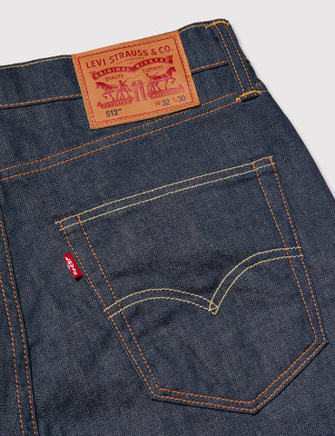 Levis 512 Jeans (Slim Tapered) - Broken Raw