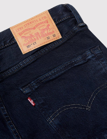 Levis 501 CT Customised Tapered Jeans - Kobori Blue