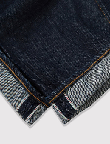 Levis 501 CT Customised Tapered Selvedge Jeans - Mossy