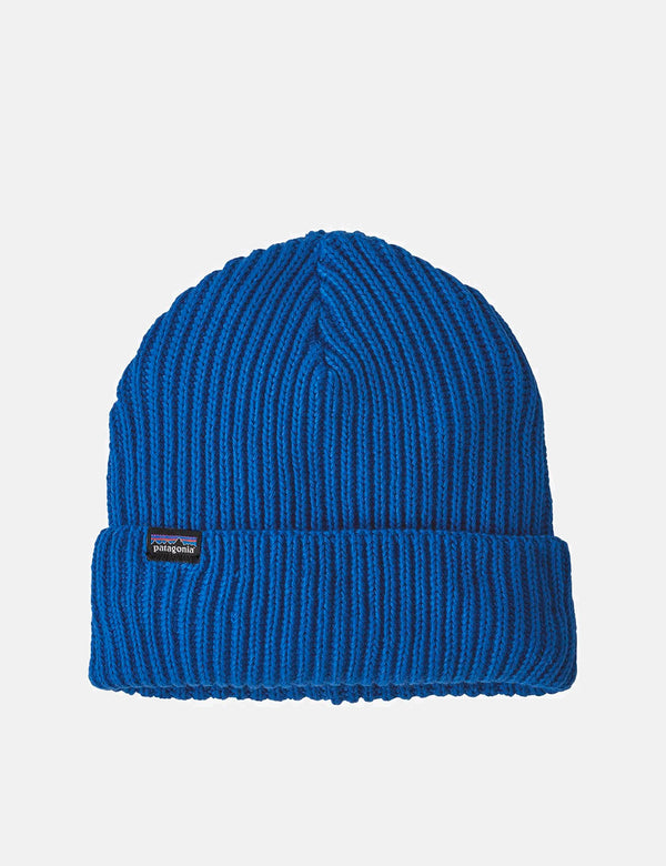 Patagonia Fisherman's Rolled Beanie Hat - Alpine Blue