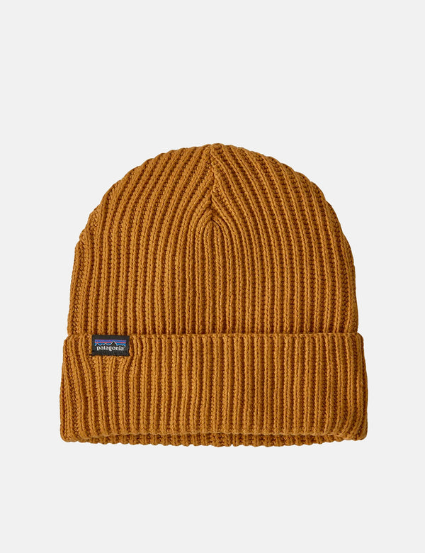 Patagonia Fishermans Rolled Beanie - Buckwheat Gold