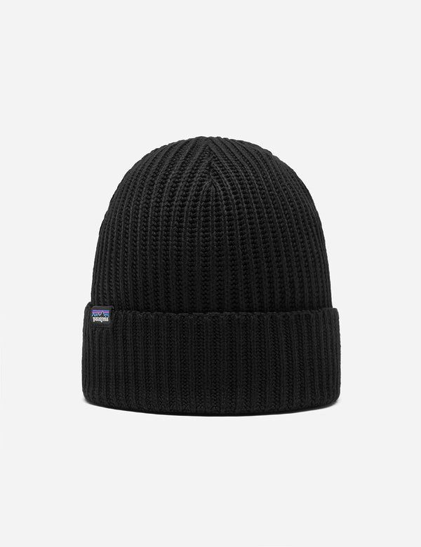 Bonnet Patagonia Fisherman's Rolled Beanie - Black