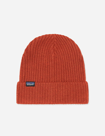 Patagonia Fisherman's Rolled Beanie Hat - Copper Ore