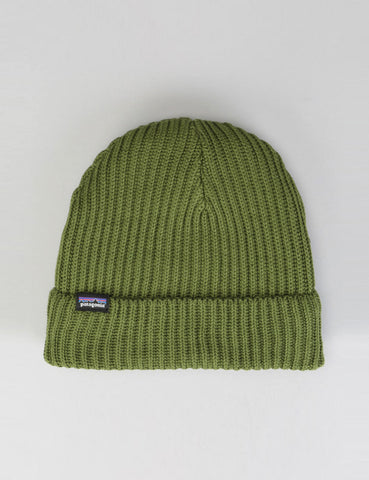 Patagonia Fisherman's Rolled Beanie Hat - Glades Green