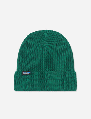 Patagonia Fisherman's Rolled Beanie Hat - Micro Green