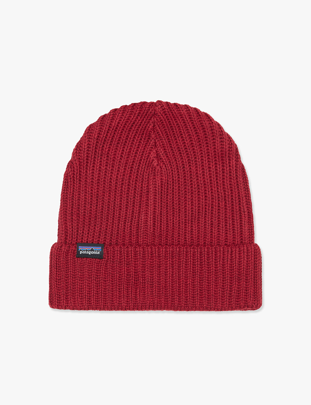 Patagonia Fisherman s Rolled Beanie Hat - Oxide Red  97f70f9616a