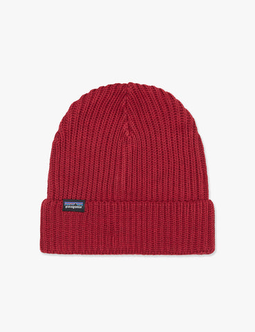 Patagonia Fisherman's Rolled Beanie Hat - Oxide Red
