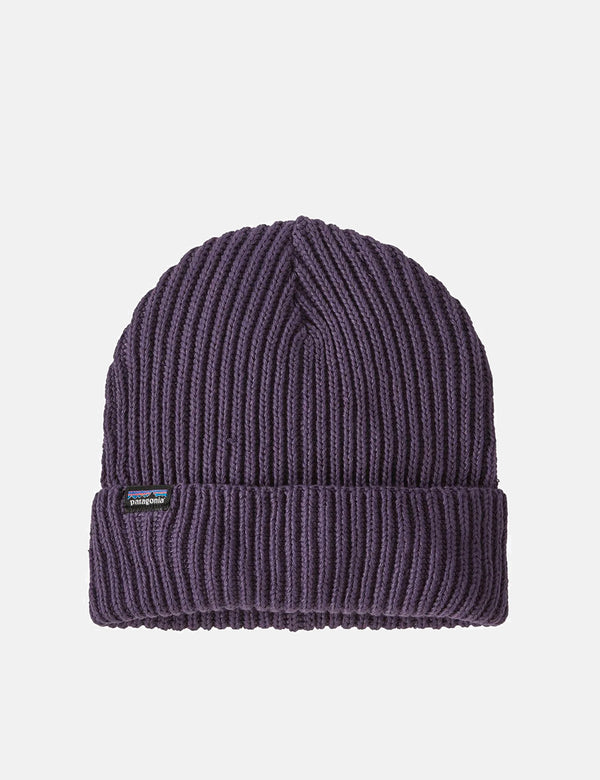Patagonia Fisherman's Rolled Beanie Hat - Piton Purple