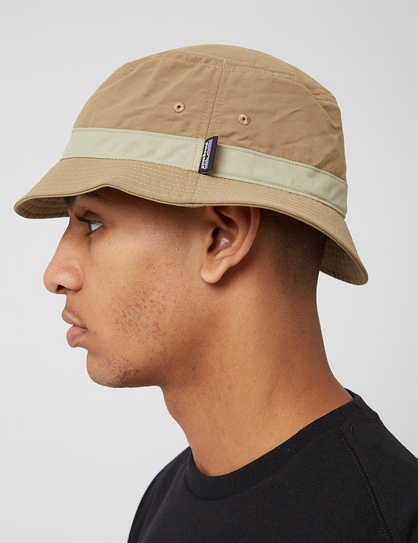 Patagonia Wavefarer Bucket Hat - Ash Tan