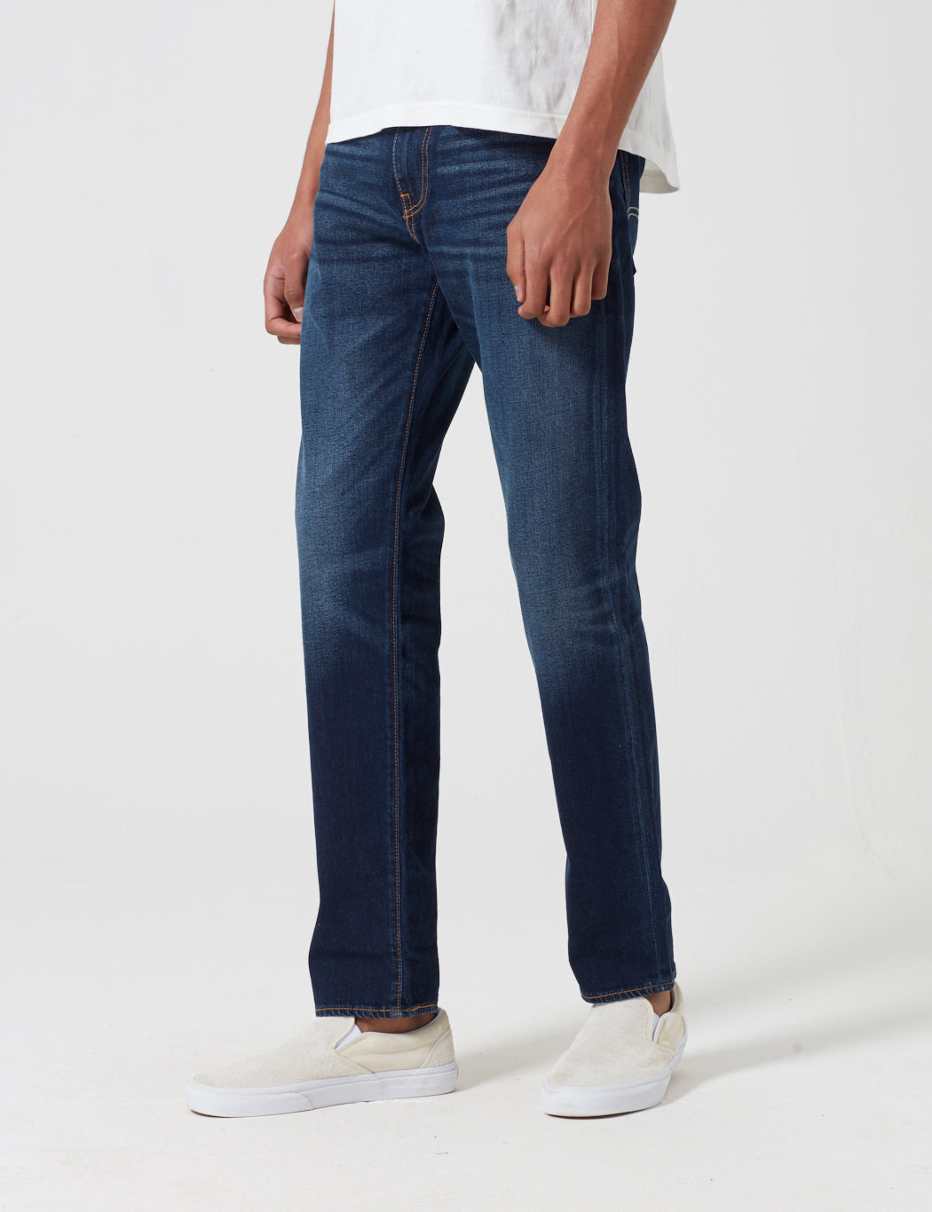 Levis 502 Jeans (Relaxed Tapered) - City Park Blue