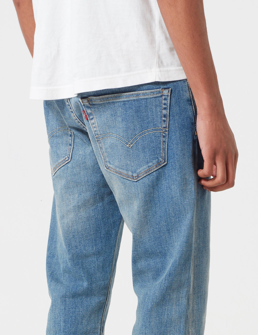 Levis 502 Jeans (Relaxed Tapered) - Dennis Blue