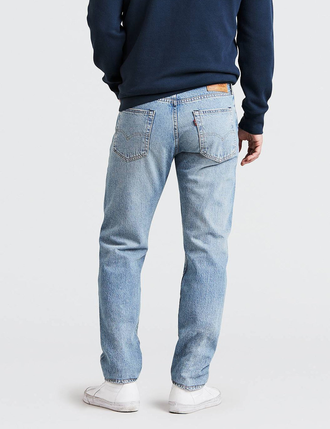 Levis 502 Jeans (Regular Tapered) - Powder Puff Warp Blue