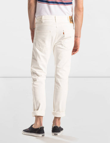 Levis Orange Tab 505C Jeans (Slim Fit) - White