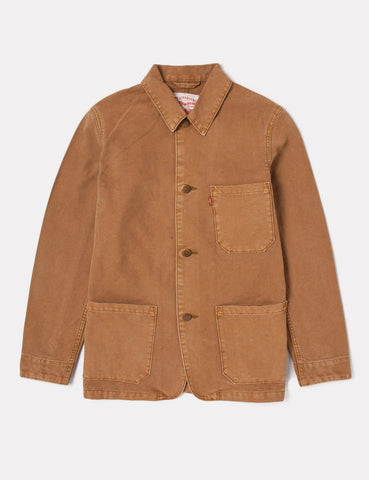 Levis Engineers Worker Jacket - Monks Robe Brown
