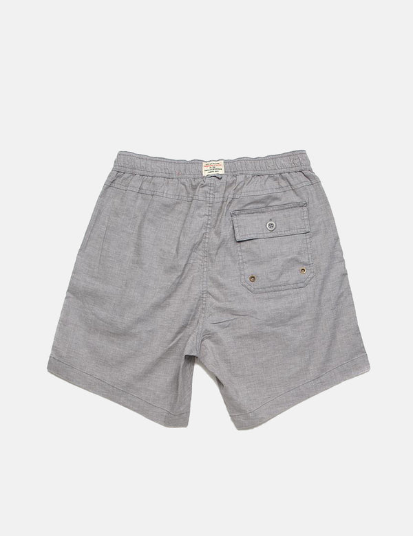 Deus Ex Machina Sandbar Hemp Short (Mesh) - Grey Rock