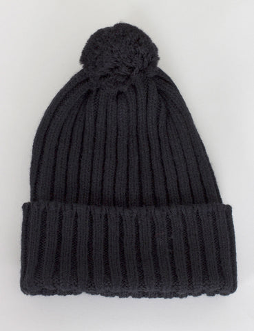 Highland 2000 Bobble Beanie Hat - Black