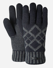 Barts Erik Gloves - Navy Blue