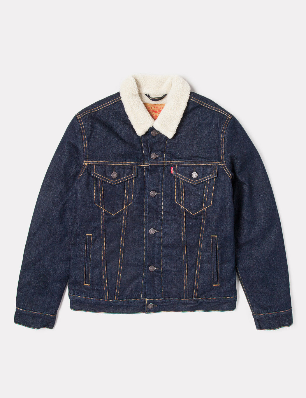Levis Good Sherpa Trucker - Juniper Rinse