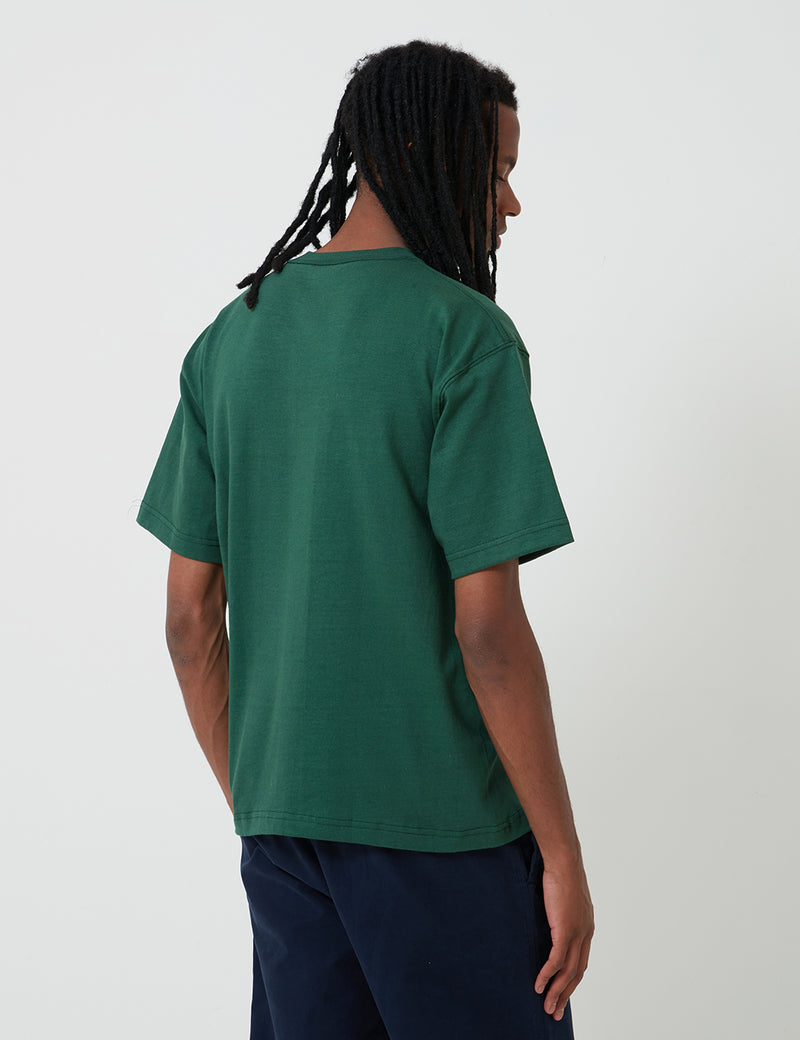 Camber Pocket T-Shirt (8oz) - Dark Green