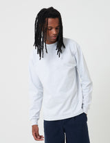 Camber Long Sleeve T-Shirt (8oz) - Grey Heather