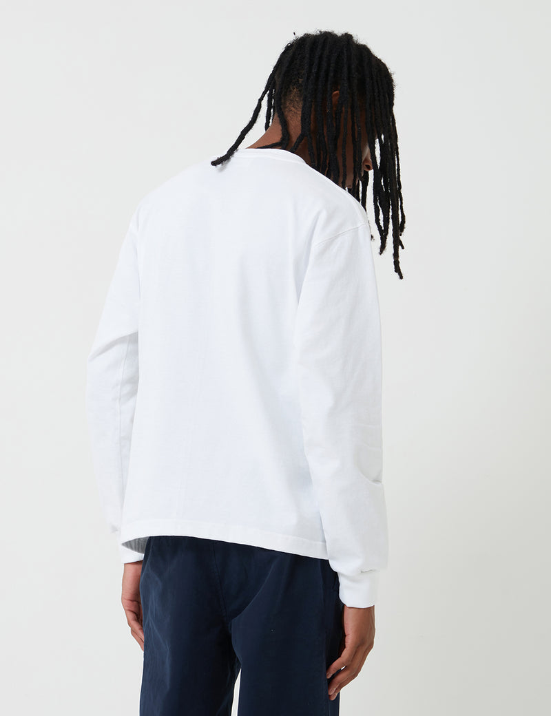 Camber Long Sleeve T-Shirt (8oz) - White