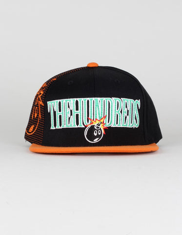 The Hundreds Draft Snapback Cap - Black