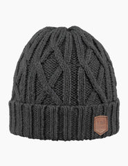 Barts Robian Beanie Hat - Dark Heather
