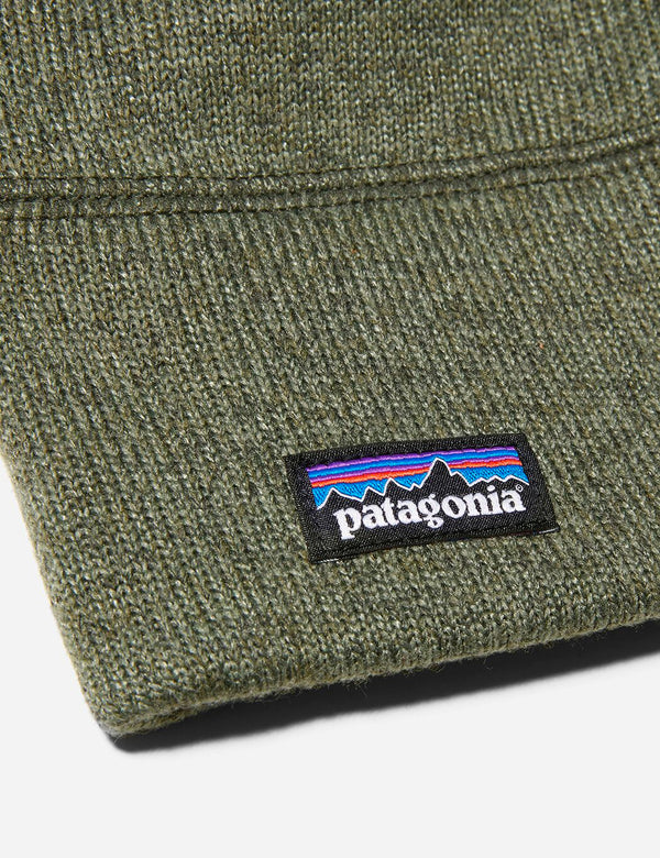 Patagonia Better Sweater Beanie Hat - Industrial Green