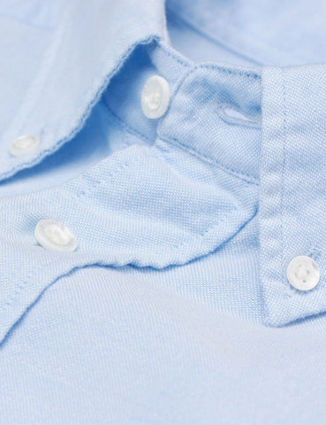 Gant Rugger Kick-Ass Oxford Shirt - Air Blue