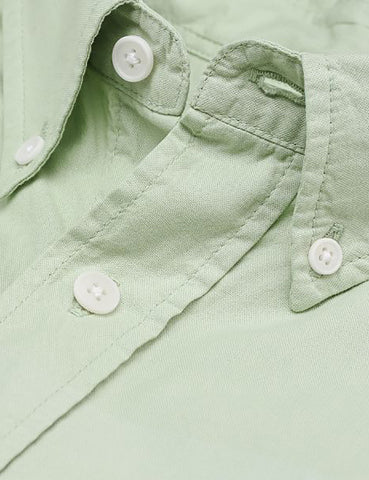 Gant Rugger Selvedge Madras Shirt - Chlorophyll Green