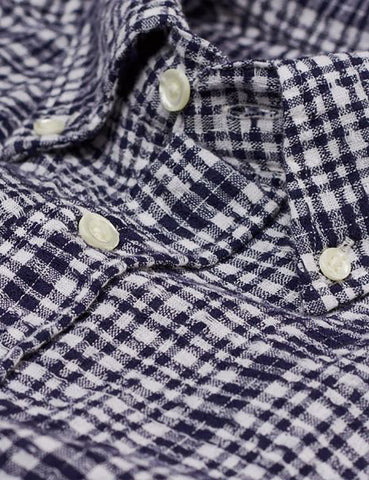 Gant Rugger Boucle Check Shirt - Evening Blue