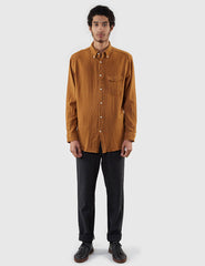 Gant Rugger Plain Weave Shirt - Toffee