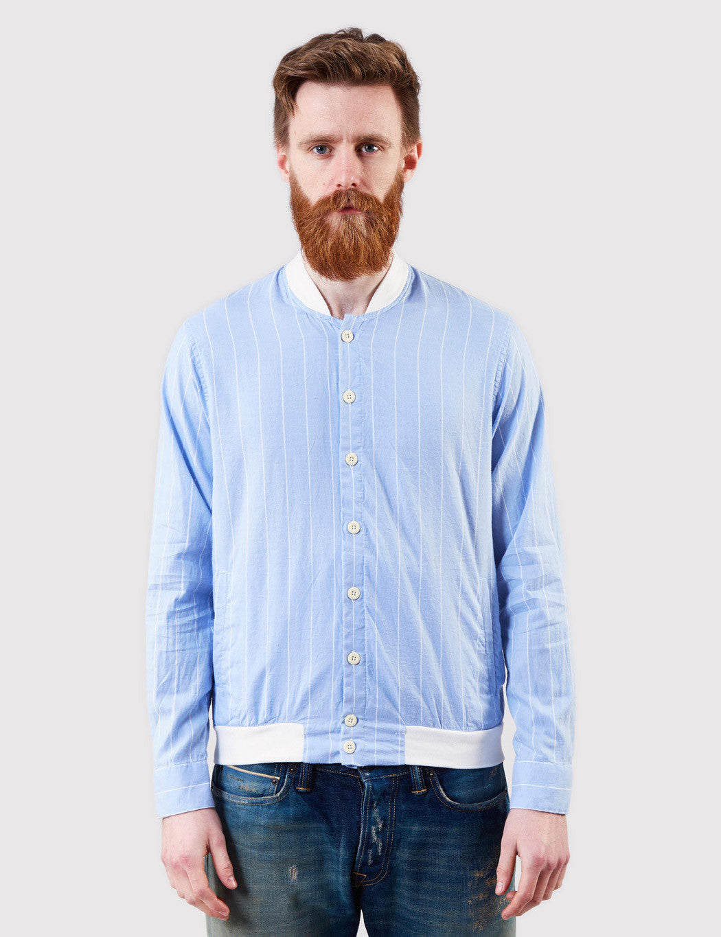 Gant Rugger Windblown Oxford Shirt - Sea Blue
