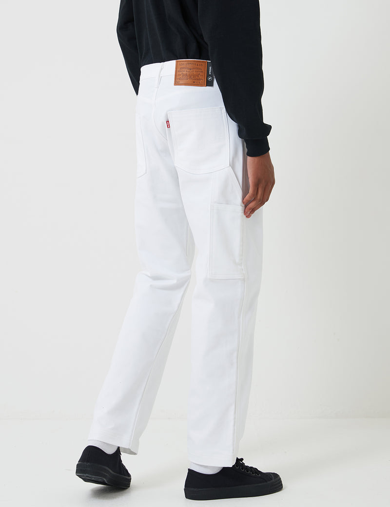 Levis Skate Carpenter Pant (Relaxed) - S&E White Bull Denim
