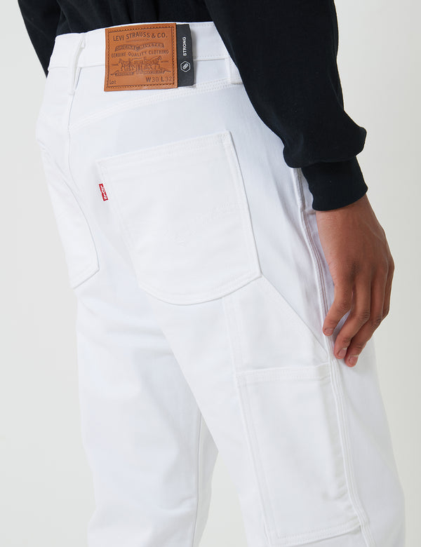Levis Skate Carpenter Pant (entspannt) - S & E White Bull Denim