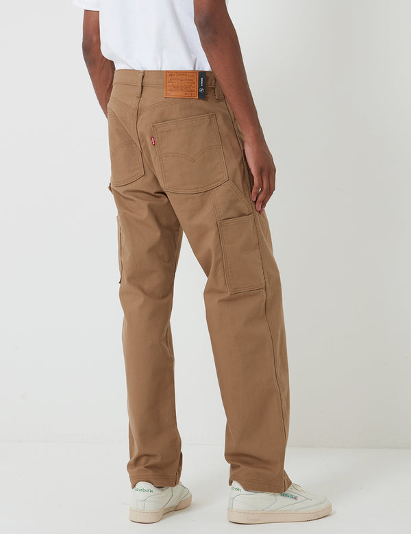 Levis Skate Carpenter Pant (Relaxed) - Ermine Canvas