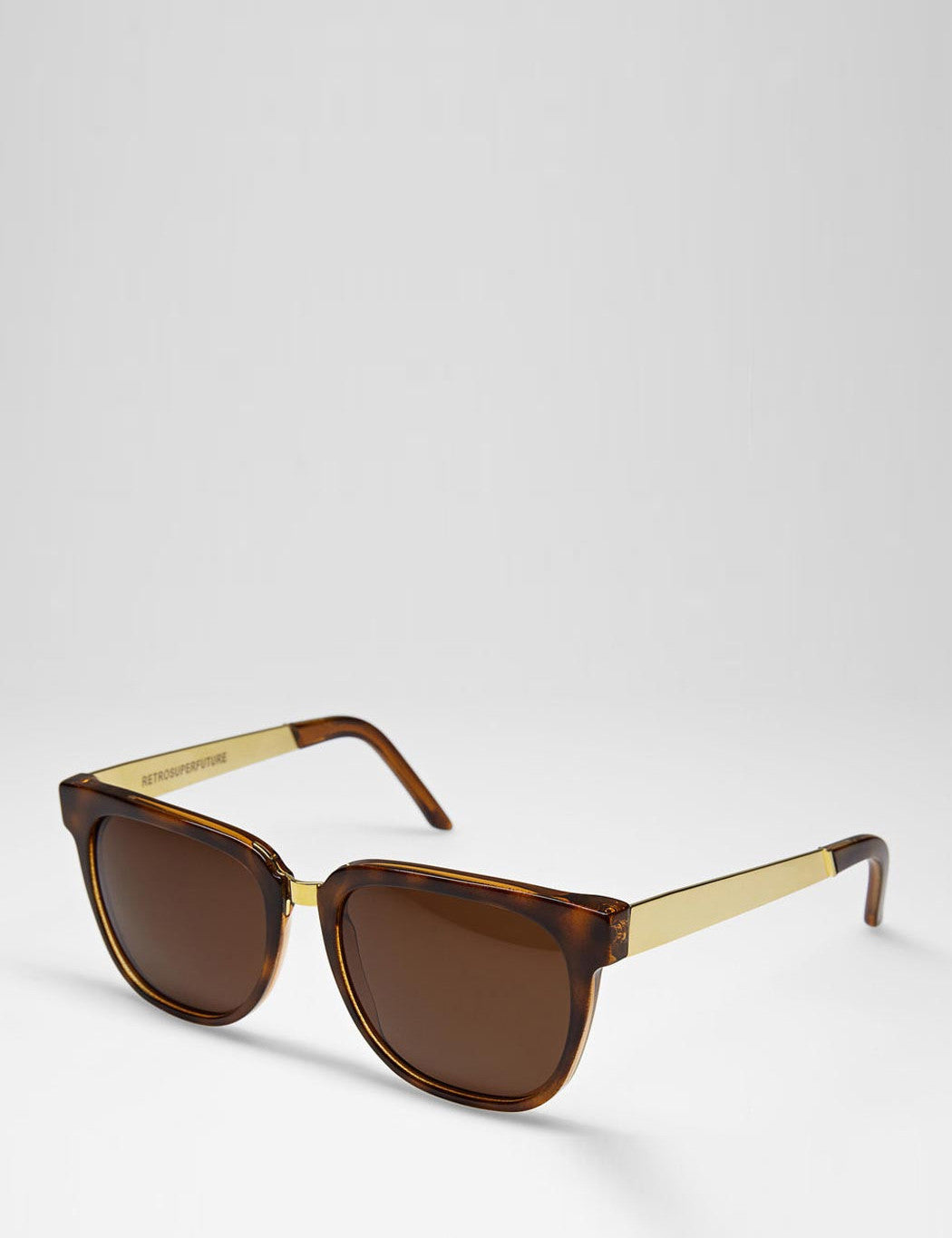 Super People Francis Sunglasses - Havana/Gold