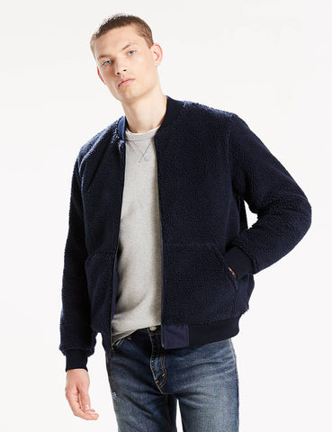 Levis Reversible MA1 Bomber Jacket - Navy Blue