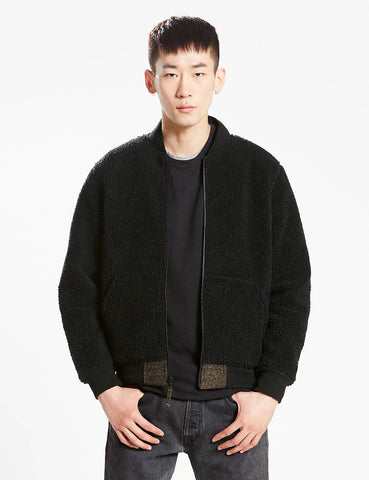 Levis Reversible MA1 Bomber Jacket - Black