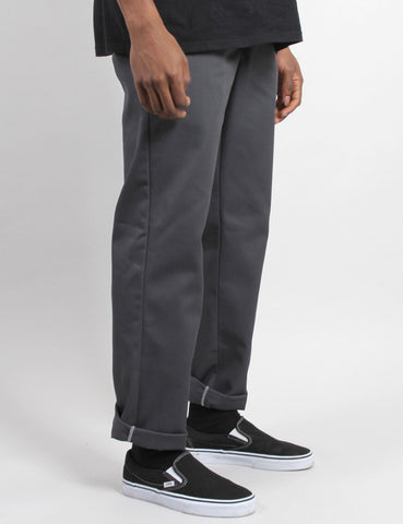 Dickies 873 Work Pant (Slim Straight) - Charcoal Grey