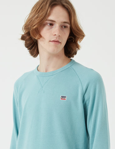 Levis Original Crew Sweat - Cameo Blue