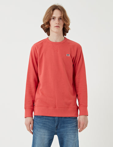 Levis Original Crew Sweat - Sunset Red