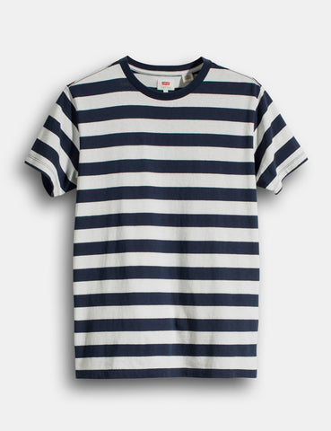 Levis Mighty Stripe T-shirt - Marshmallow