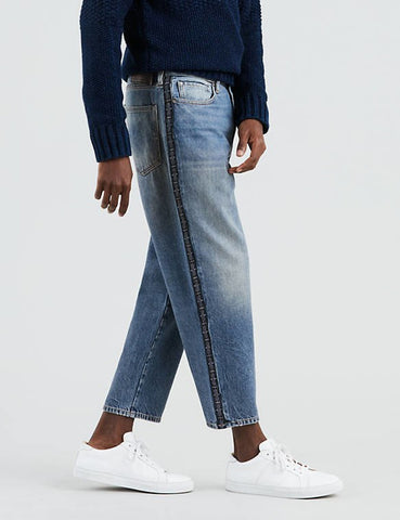 Levis Made & Crafted Draft Taper Jeans - Shamrock Blue
