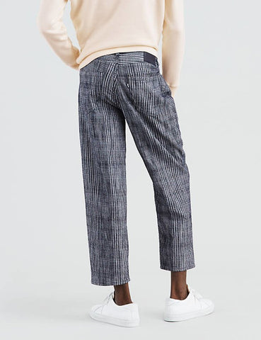 Levis Made & Crafted Draft Taper Jeans - Weller Plaid Blue