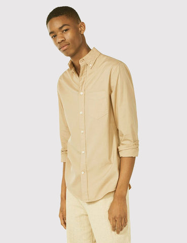 Gant Rugger Organic Oxford Shirt - Daisy Yellow