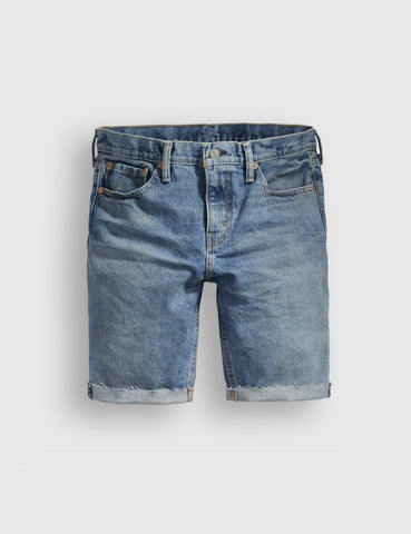 Levis 511 Cut-Off Denim Shorts (Slim) - Bob Blue
