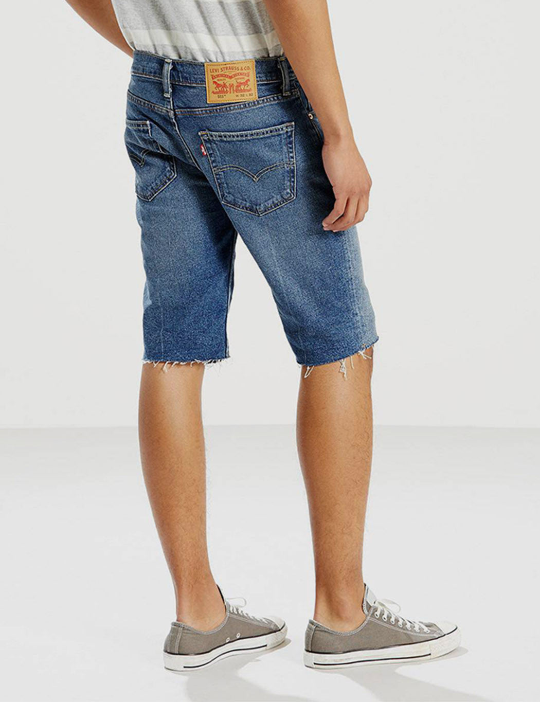 Levis 511 Denim Cut-Off Shorts (Slim) - Castro